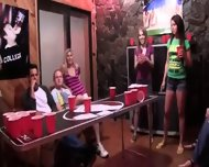 College Groupsex Intercourse At The Party - scene 2