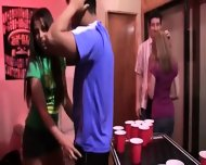 College Groupsex Intercourse At The Party - scene 3