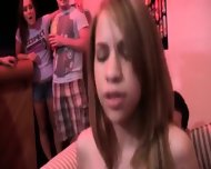 College Groupsex Intercourse At The Party - scene 5