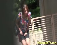 Japanese Hottie Urinates - scene 9