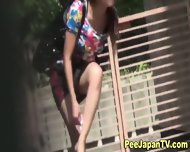 Japanese Hottie Urinates - scene 11