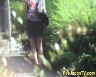 Japanese Hottie Urinates - scene 4