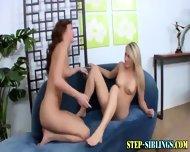 Step Sister Teen Lesbians - scene 10