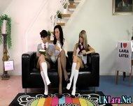 Pussy Licking Milf Trio - scene 1