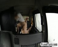 Pretty Amateur Blonde Customer Nailed By Fraud Driver - scene 7