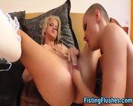 Lesbo Chicks Fist Cunts - scene 5