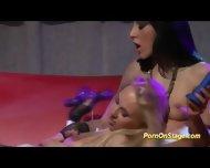 Public Lesbian Sex On Stage - scene 8
