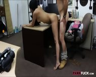 Cute Amateur Girl Pawns Her Pussy And Nailed In The Backroom - scene 9