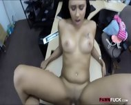 Cute Amateur Girl Pawns Her Pussy And Nailed In The Backroom - scene 10