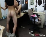 Cute Amateur Girl Pawns Her Pussy And Nailed In The Backroom - scene 11
