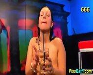 Urine Guzzling Ho Rammed - scene 7