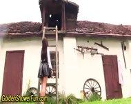 Ho Gets Pissed On In Barn - scene 2