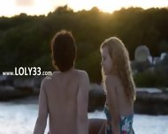 Pussy Licking And Coitus By The Sea - scene 1