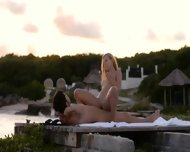 Pussy Licking And Coitus By The Sea - scene 8
