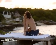 Pussy Licking And Coitus By The Sea - scene 4