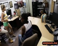 Dude Sells His Gf And Watch Her Getting Fuck In The Pawnshop - scene 4