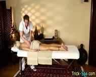 Hot Blonde Oily Massage - scene 9