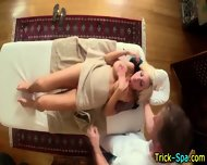 Hot Blonde Oily Massage - scene 10