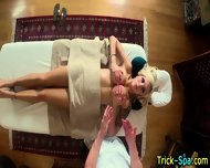 Hot Blonde Oily Massage - scene 12