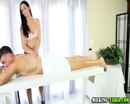 Cock Massage Cum Swallow - scene 8