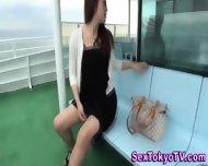 Japanese Babe Pisses - scene 1