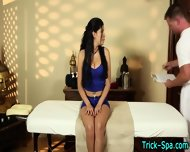 Latina Babe Gets Massage - scene 1