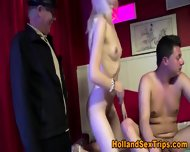 Real Hooker Swallows Cum - scene 12