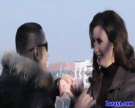 Mature Euro Slut Picks Up Stranger - scene 2