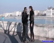 Mature Euro Slut Picks Up Stranger - scene 3