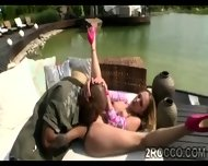 Horny Babe Gets Her Holes Explored Outdoor By Filthy Brotha - scene 9