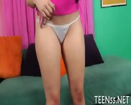 Teen Tries Her Biggest Dick Ever - scene 3