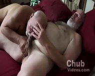 Pumping Up Big Daddies Big Thick Cock - scene 1