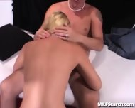 Amateur Milf Gets Fucked On Camera - scene 4