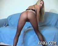 Amazing Wriggling In Pantyhose - scene 4