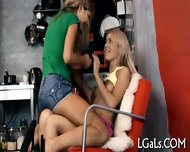 Lesbo Gals Wait For You - scene 5