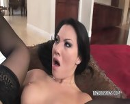 Asa Akira Takes A Black Dick In Her Ass - scene 11