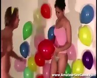 Party Games For Group Of Naked Amateur Lesbians - scene 2