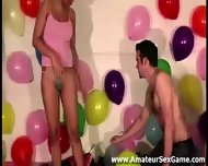 Party Games For Group Of Naked Amateur Lesbians - scene 3