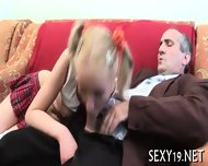Teacher Is Getting Wet Blowjob - scene 6