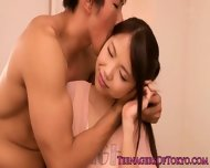Facialized Asian Teen Babe With A Petite Body - scene 2