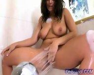 Super Hot Brunette Babe - scene 11