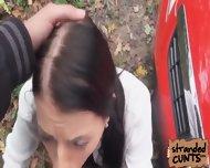 Leyla Peachbloom Swallowed A Creamy Load Of Jizz In Her Mouth - scene 9