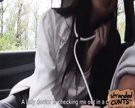 Leyla Peachbloom Swallowed A Creamy Load Of Jizz In Her Mouth - scene 2