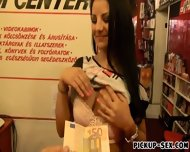 Frontdesk Eurobabe Ass Nailed In Her Workplace For Money - scene 2