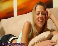Blowing Teen Cum Swallow - scene 4