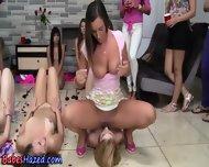 Lesbian Teens Oral Hazing - scene 8
