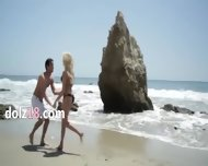 Outdoor Beautiful Intercourse With Sense - scene 1