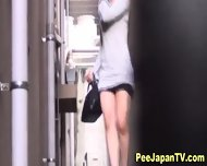 Japanese Ladies Pissing - scene 9