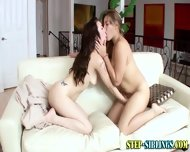 Lesbian Step Sibling Oral - scene 7