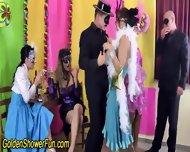Golden Showering Group - scene 2